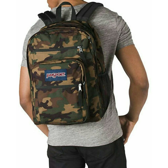 690fa34423d Jansport Bags | Camo Backpack | Poshmark